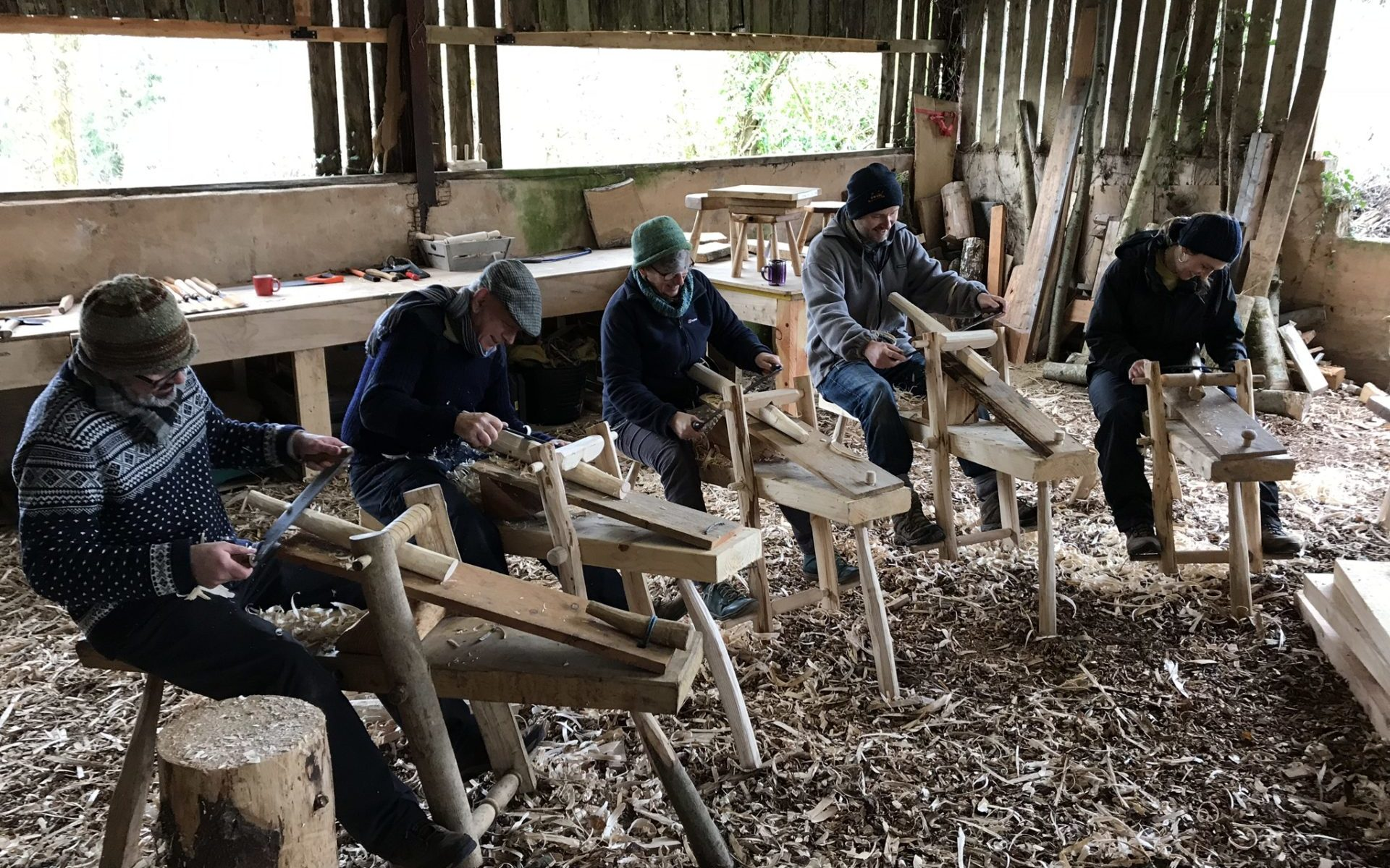 Surprising Woodwork Courses In Devon Learn To Make Green Wood Ocoug Best Dining Table And Chair Ideas Images Ocougorg